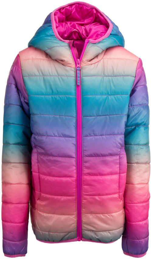 Dívčí prošívaná zimní bunda Alpine Pro na hory i do města