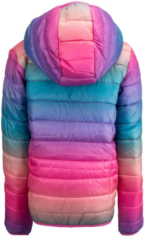 dívčí bunda s kapucí