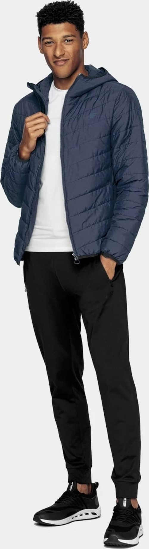 pánská bunda na zip vpředu