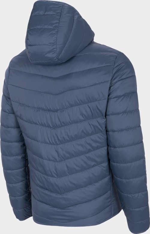 péřová bunda s kapucí